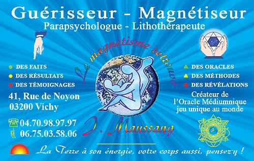 Magnetiseur J.MAUSSANG